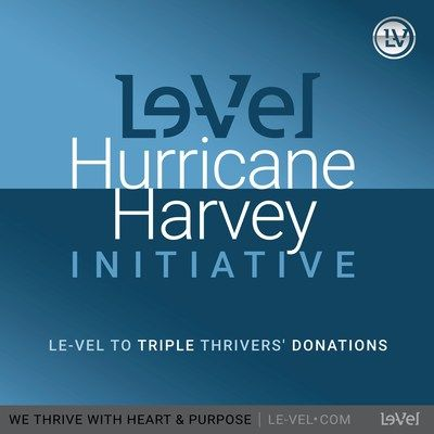 Le Vel Hurricane Harvey